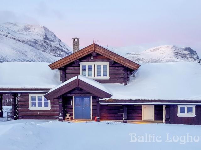 Anneks laftehytte Baltic Loghouses palkmaja