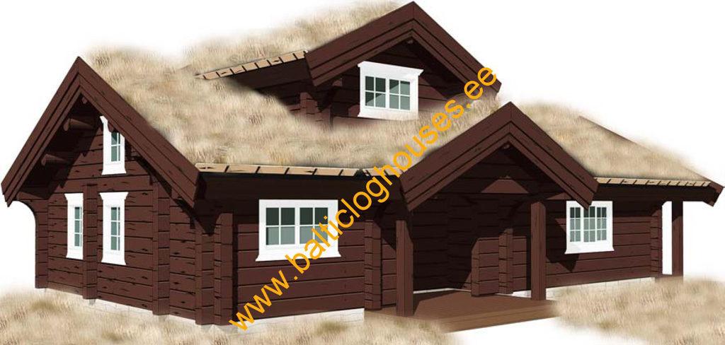 Baltic Loghouses, palkmaja handcrafted log house log house 90