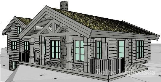 Baltic Loghouses, palkmaja projekt 122