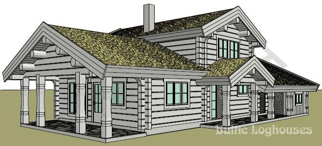 Baltic Loghouses, palkmaja projekt 173