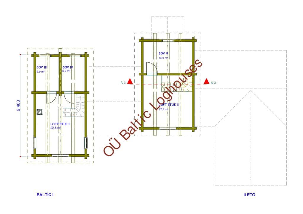 Baltic Loghouses, palkmaja projekt 216