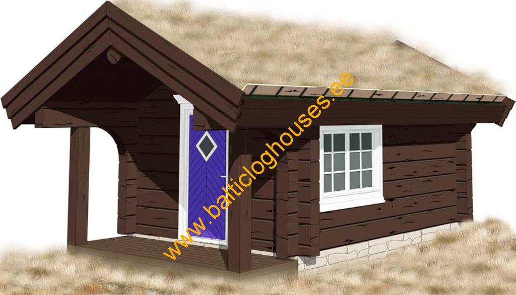 Anneks laftehytte, handcrafted log cabin log cabin 12