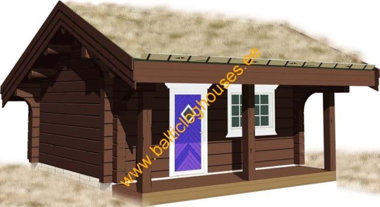 Anneks laftehytte, palkmaja, handcraft log cabin log cabin 21