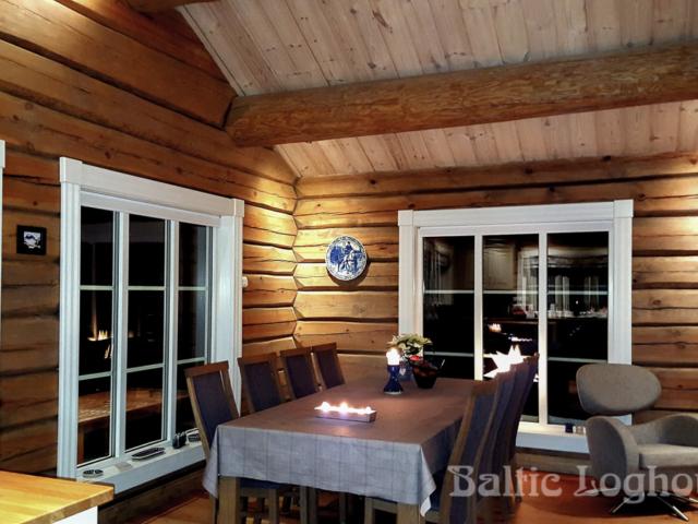 tømmerhus og tømmerhytter handcrafted log house